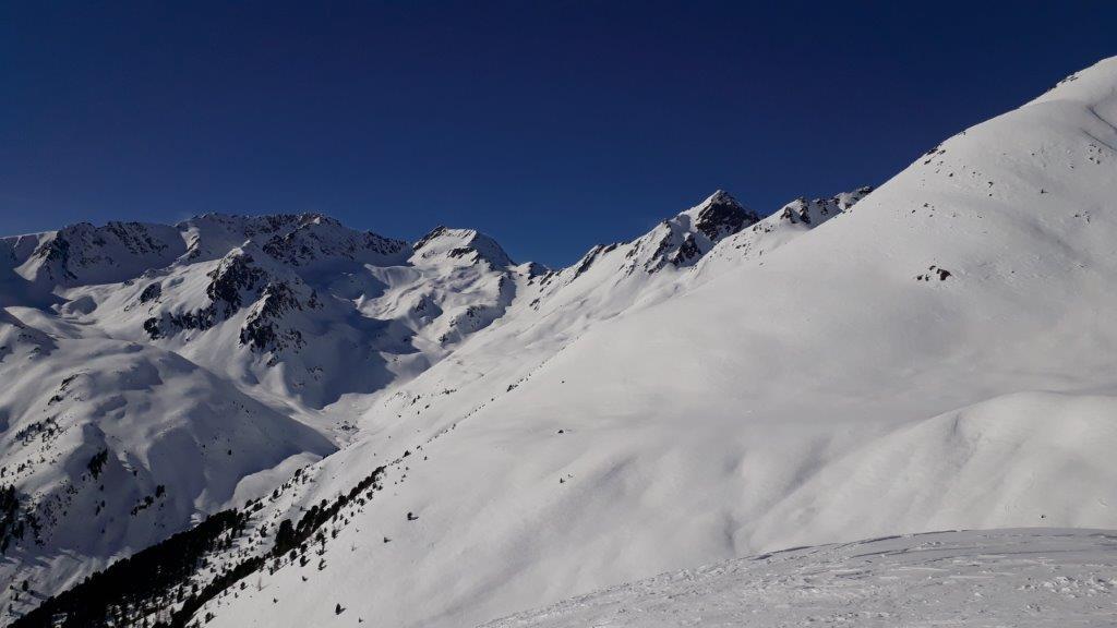 Krasspesspitze 2954m - Hochreichkopf 3010m