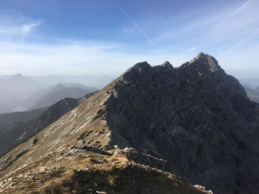 Geierköpfe Überschreitung - Ammergauer Alpen