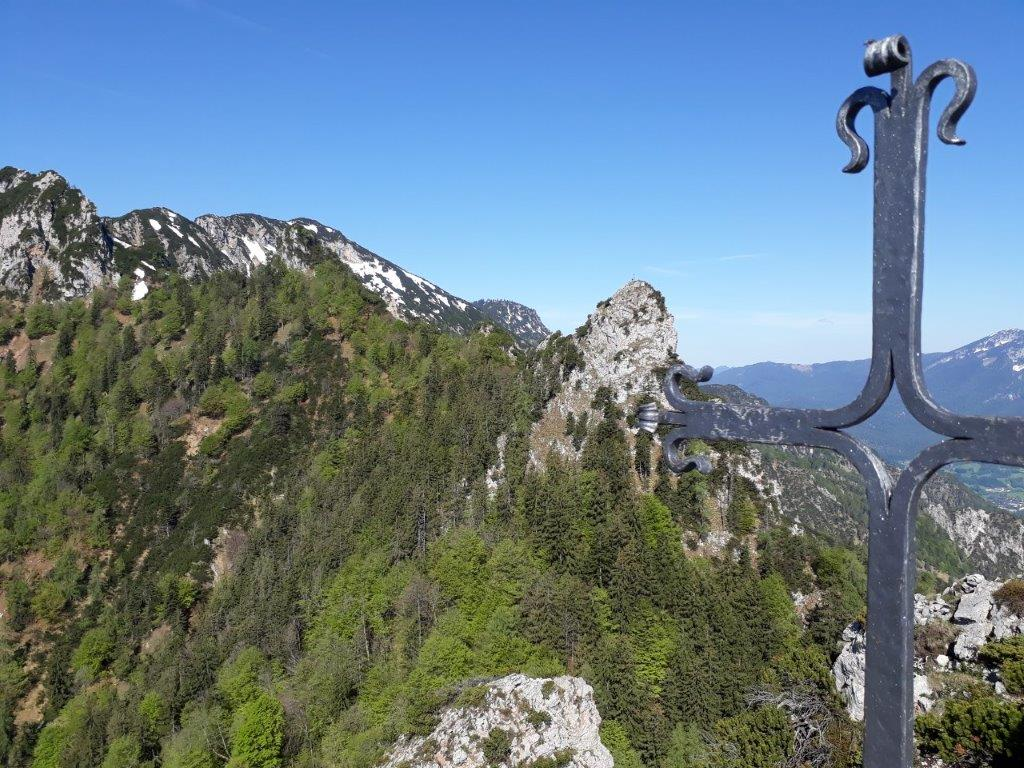 Alpin Klettertour Schlafende Hex Nase