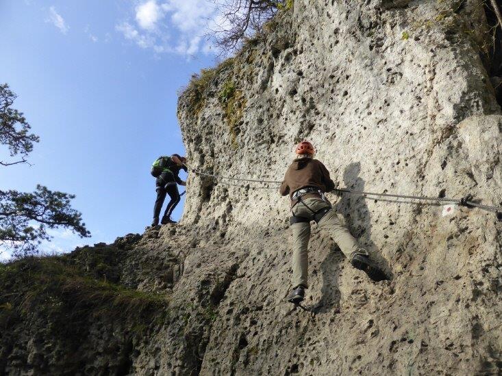 Klettersteig Höhenglücksteig