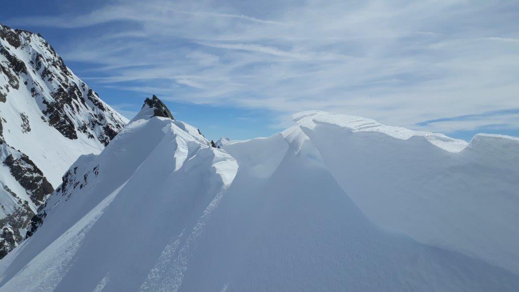 Skitour Hinterer Brochkogel / Petersenspitze