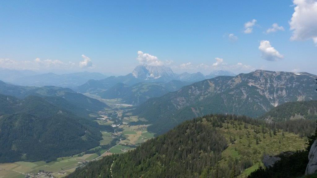 Klettersteig Schuasta Gangal