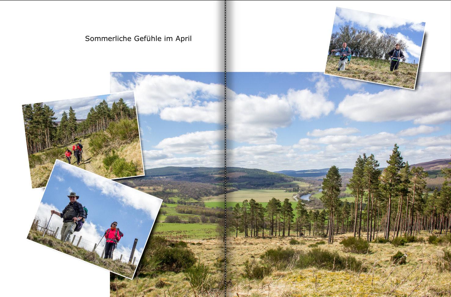 Wanderreisen Wandertouren Schottland - Speyside Way Whisky Trail