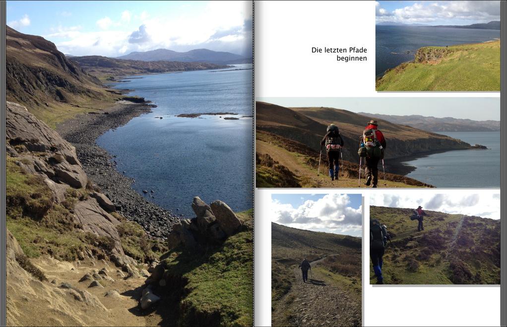 Trekkingtouren Trekkingreisen Schottland - Isle Skye Trail