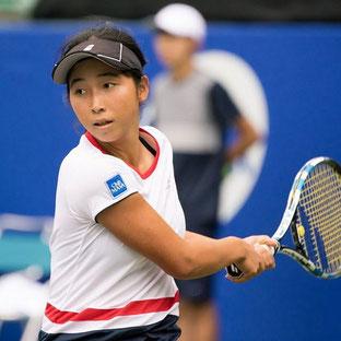 プロテニスプレイヤー 清水綾乃選手