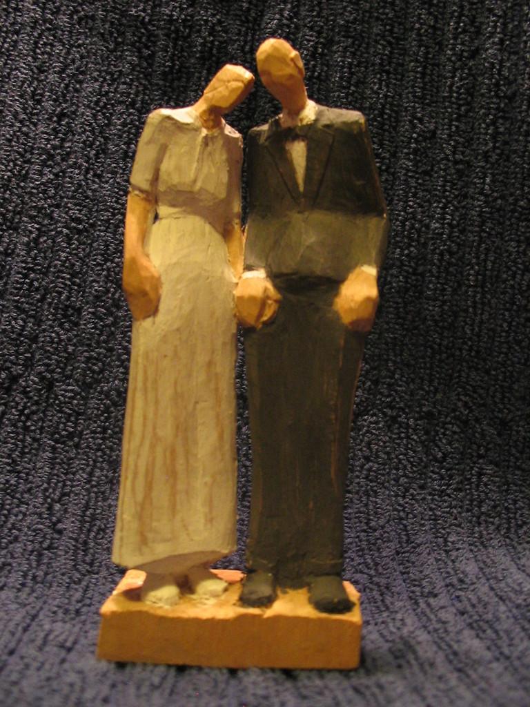 Ehepaar, Linde gefasst