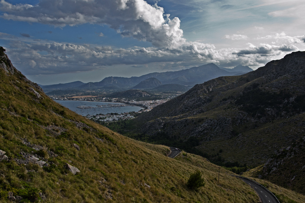 Ausblick auf Port Andratx vom alten Militärwachturm Atalya d'Albercuix