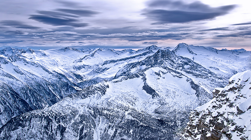 Hintertuxer Gletscher - An der Gefrorenen Wand