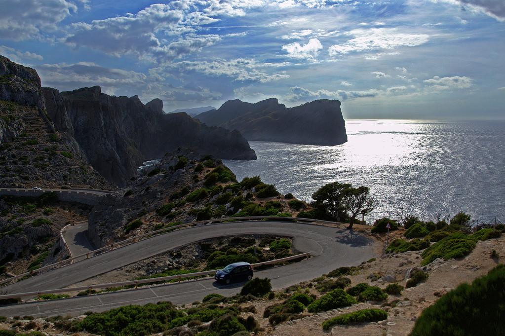 Die Straße zum Cap de Formentor