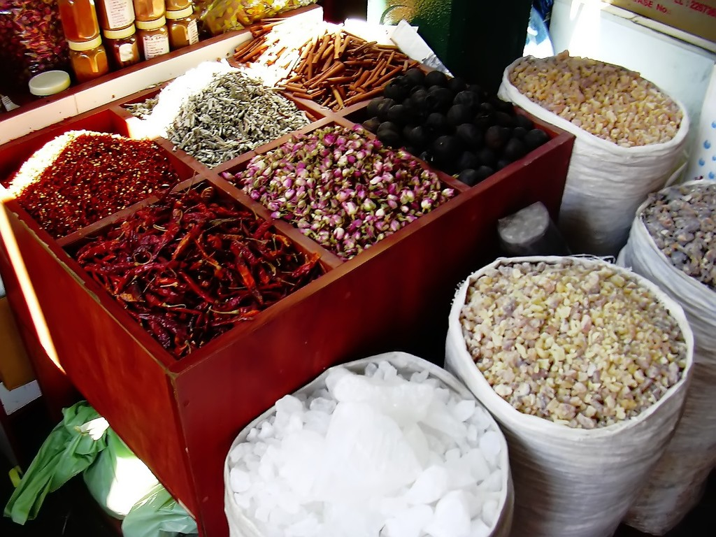 Auf dem Gewürzmarkt