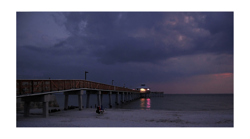 Sunset at Fort Myers Beach Pier