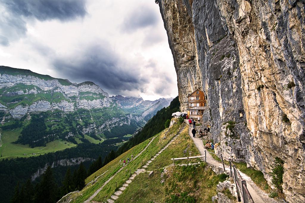 Aescher Wildkirchli im Appenzeller Land | fotokueche | © Diana Klar