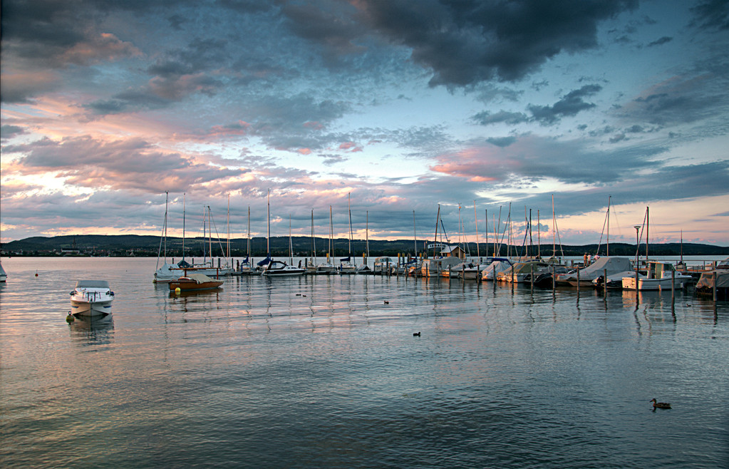 Sonnenuntergang   Hafen Iznang   © Diana Klar Fotografie