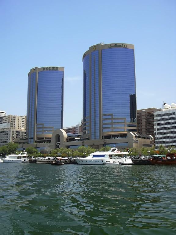 Rolex Twin Towers am Dubai Creek