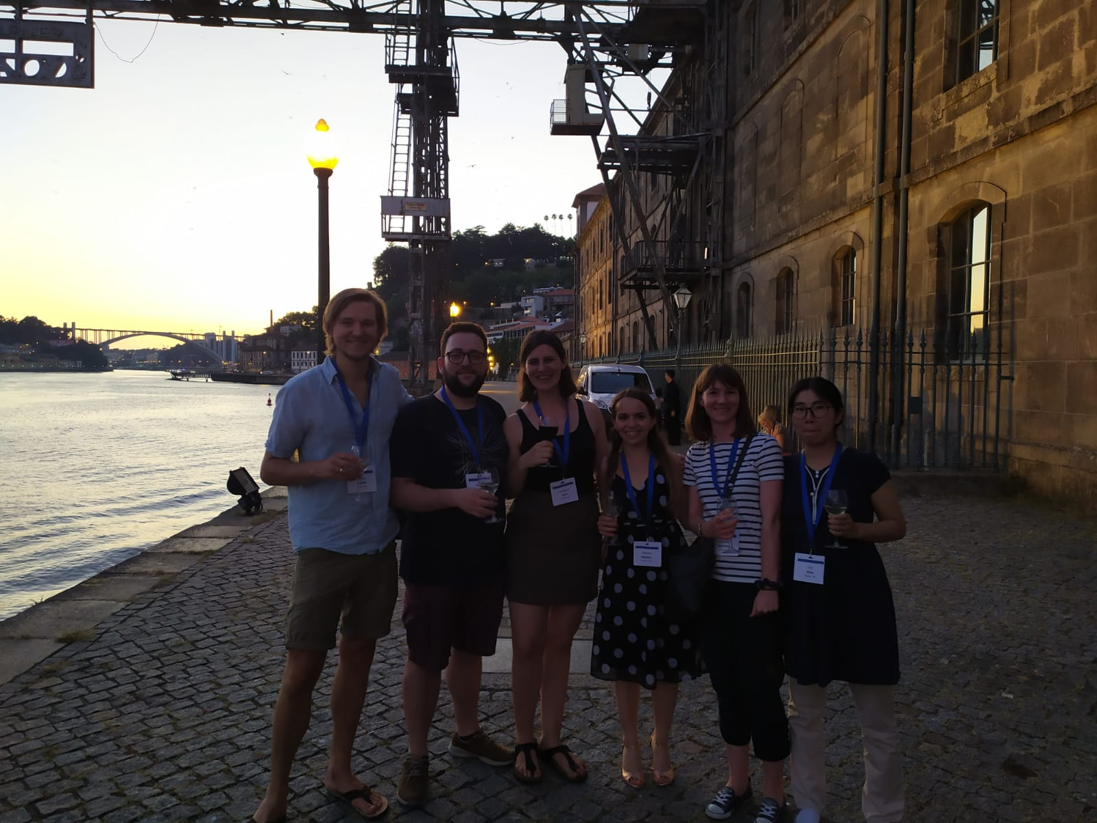 Euroglia 2020 in Porto - The group