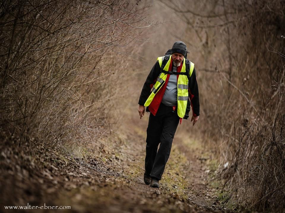 26.01.2018 - Burgenland extrem, dieses Jahr habe ich knapp 90 km geschafft, bis Neusiedl am See