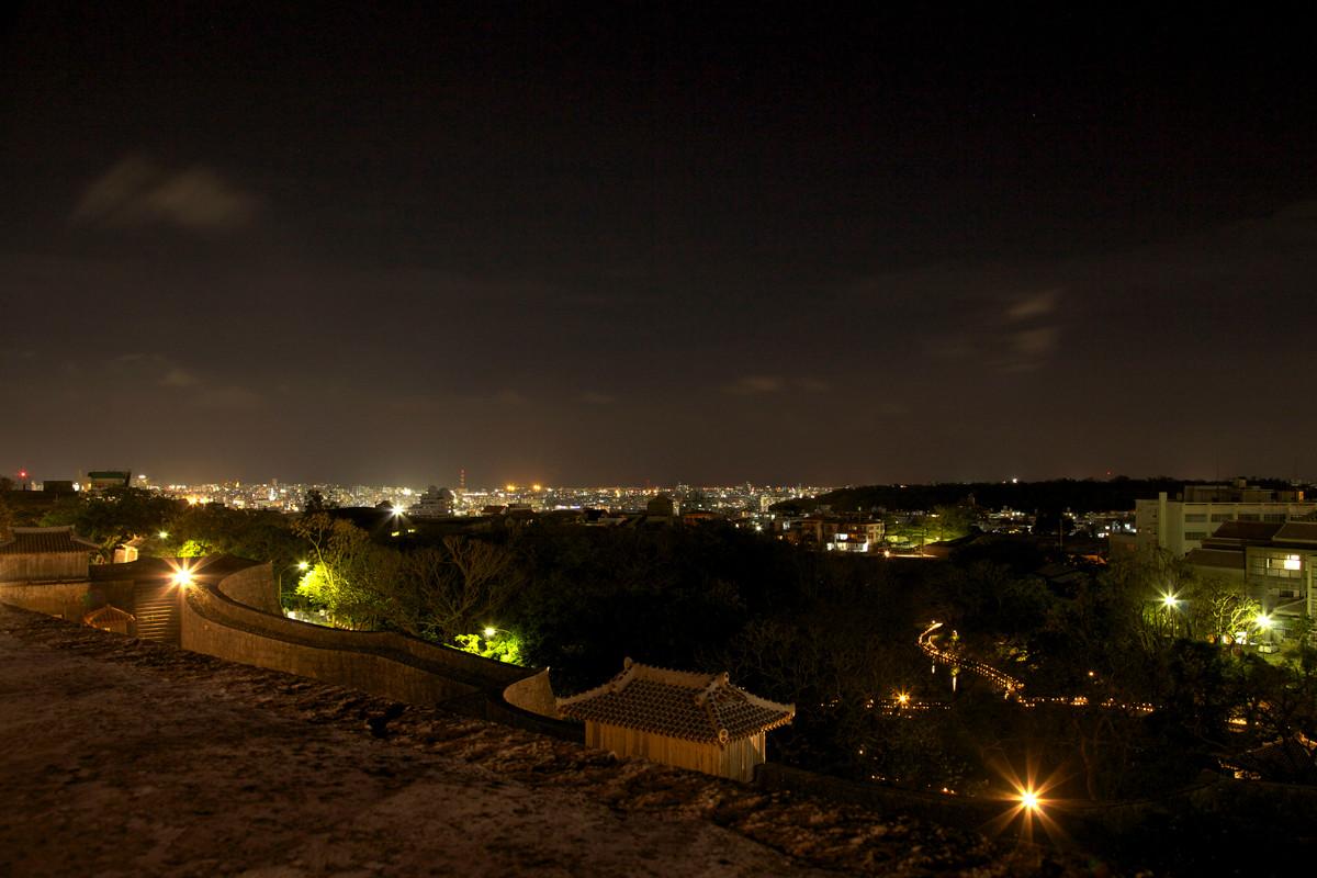 沖縄写真 首里城 夜景 沖縄の世界遺産