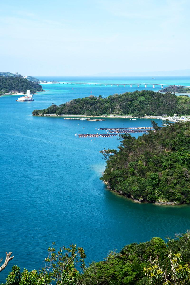 沖縄写真 羽地内海 沖縄の景勝地