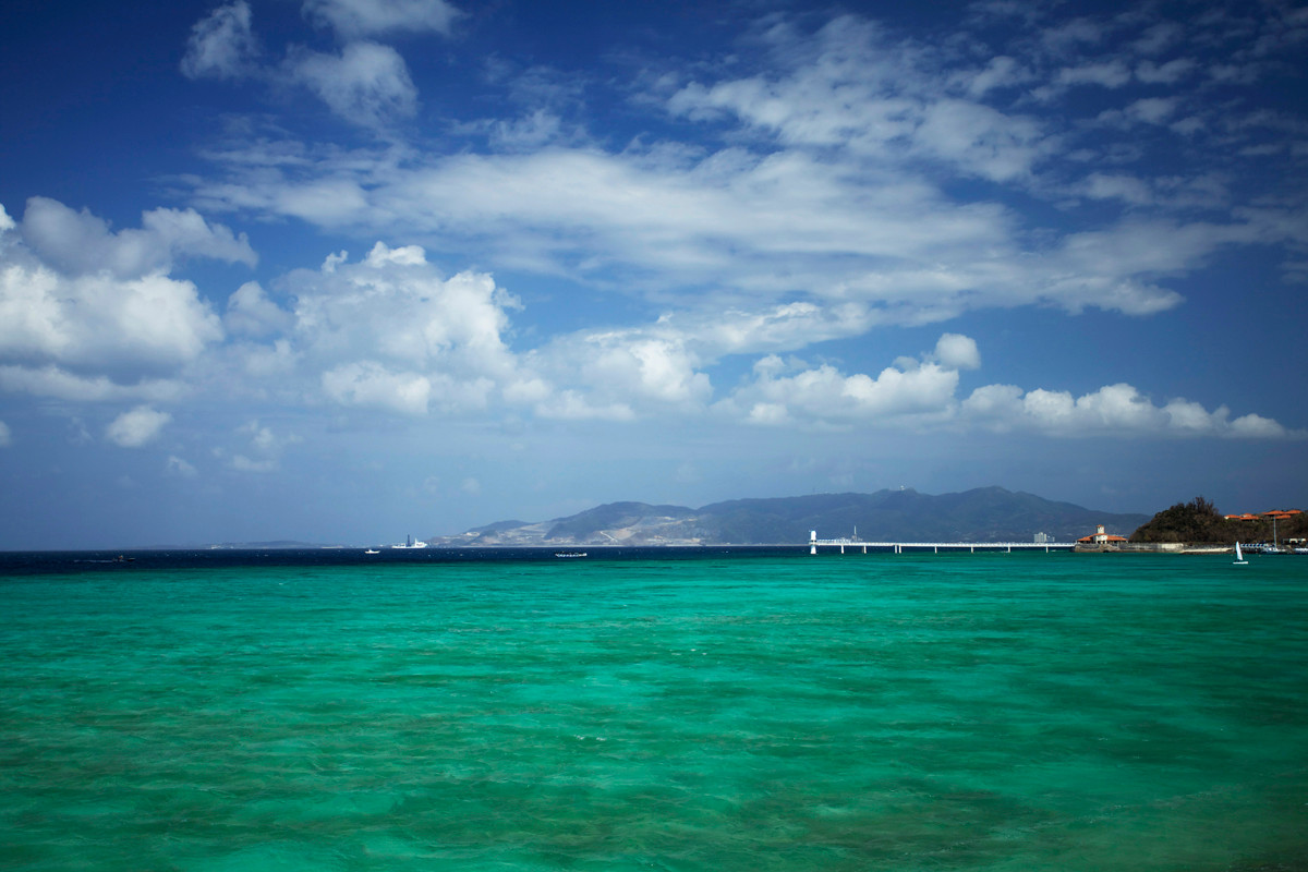 沖縄写真 名護湾 沖縄の海