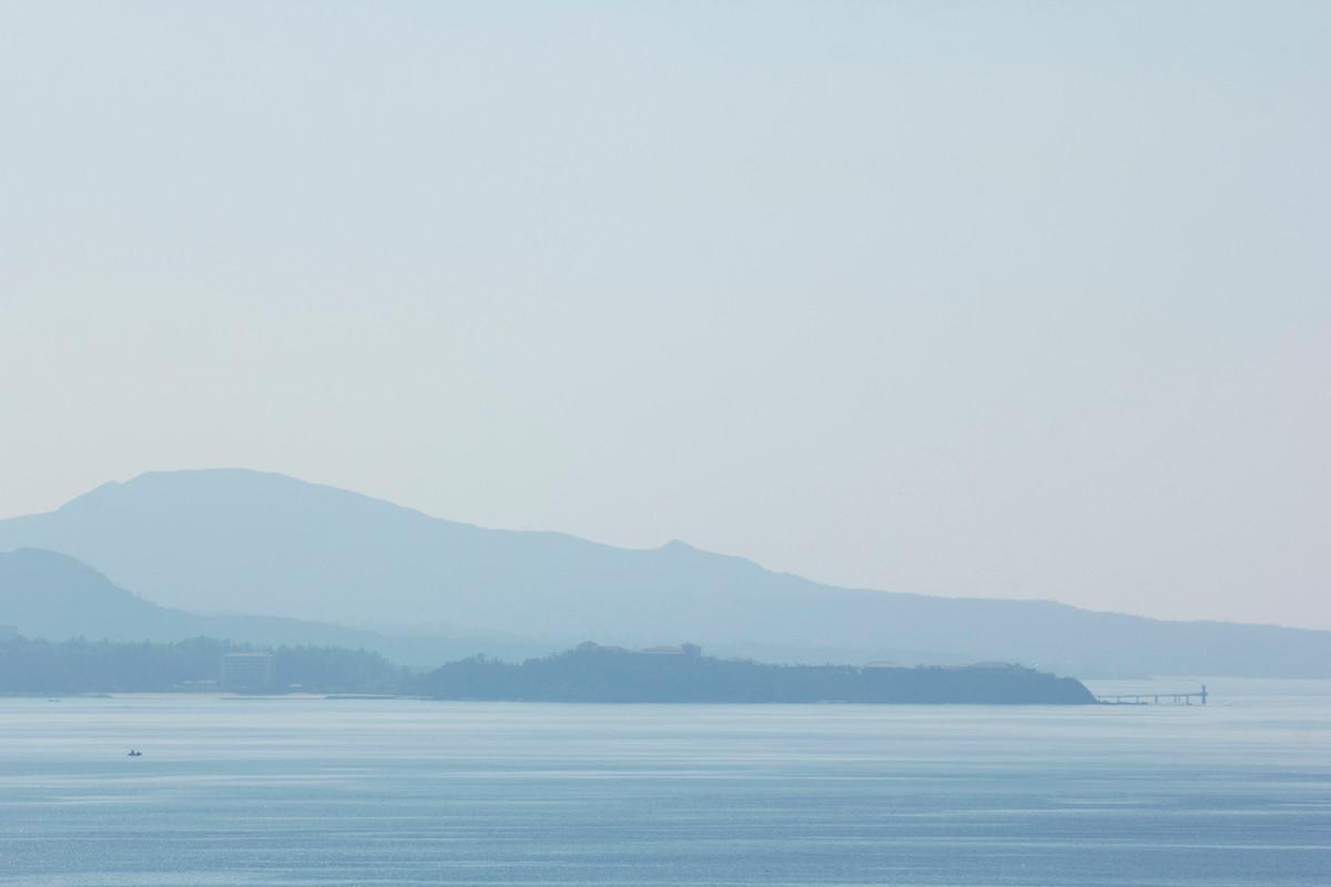 沖縄写真 名護湾風景 シルキーブルーの世界