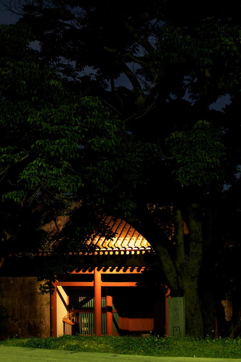 沖縄写真 首里城 円覚寺 正門