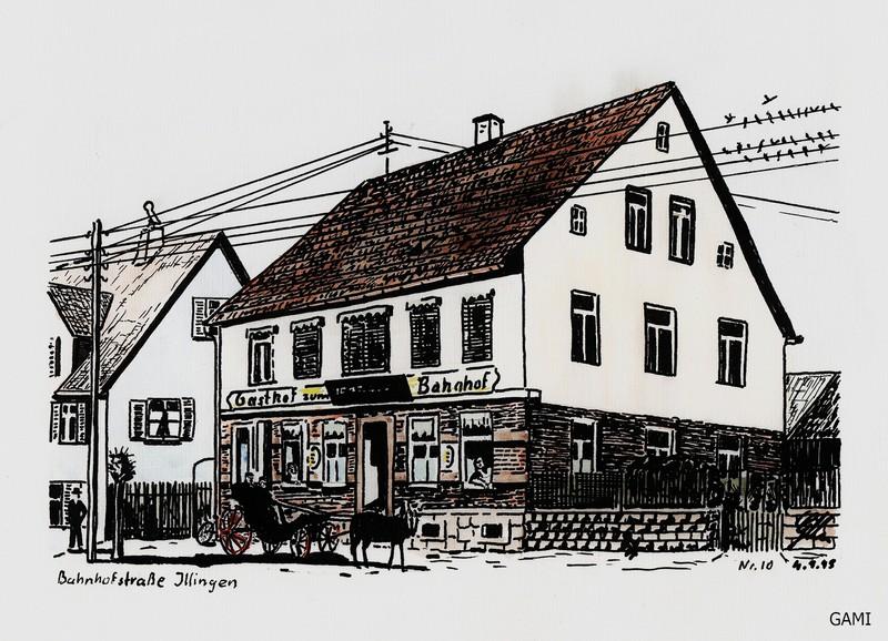 Gaststätte Zum Bahnhof  (Robert Holzapfel)