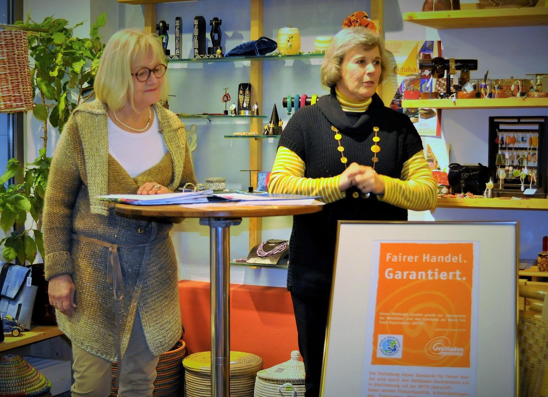 1. Vorsitzende: Angelika Hölscher und Barbara Weyrauch