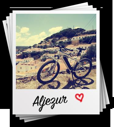 ciclismo da Costa Vicentina com a bicicleta eléctrica, E-Bike alugar Aljezur
