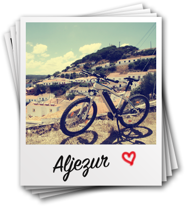 Algarve Bike Aljezur, aluguer bicicletas elétricas montanhas Costa Vicentina, E-Bike