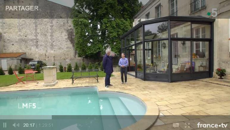 veranda verre à rochefort par LA VERANDA ROCHELAISE signée RAPID miroiterie