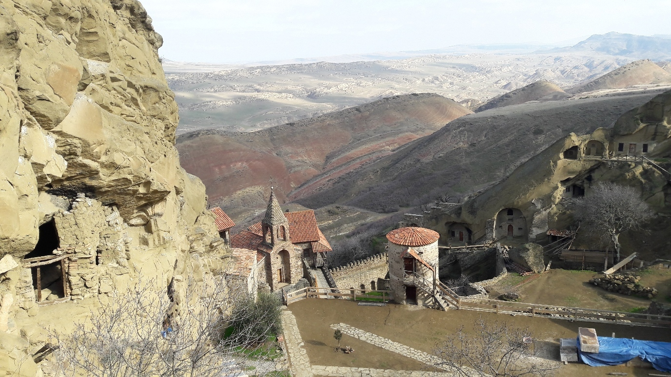 Part of the Monastery of David Gareja