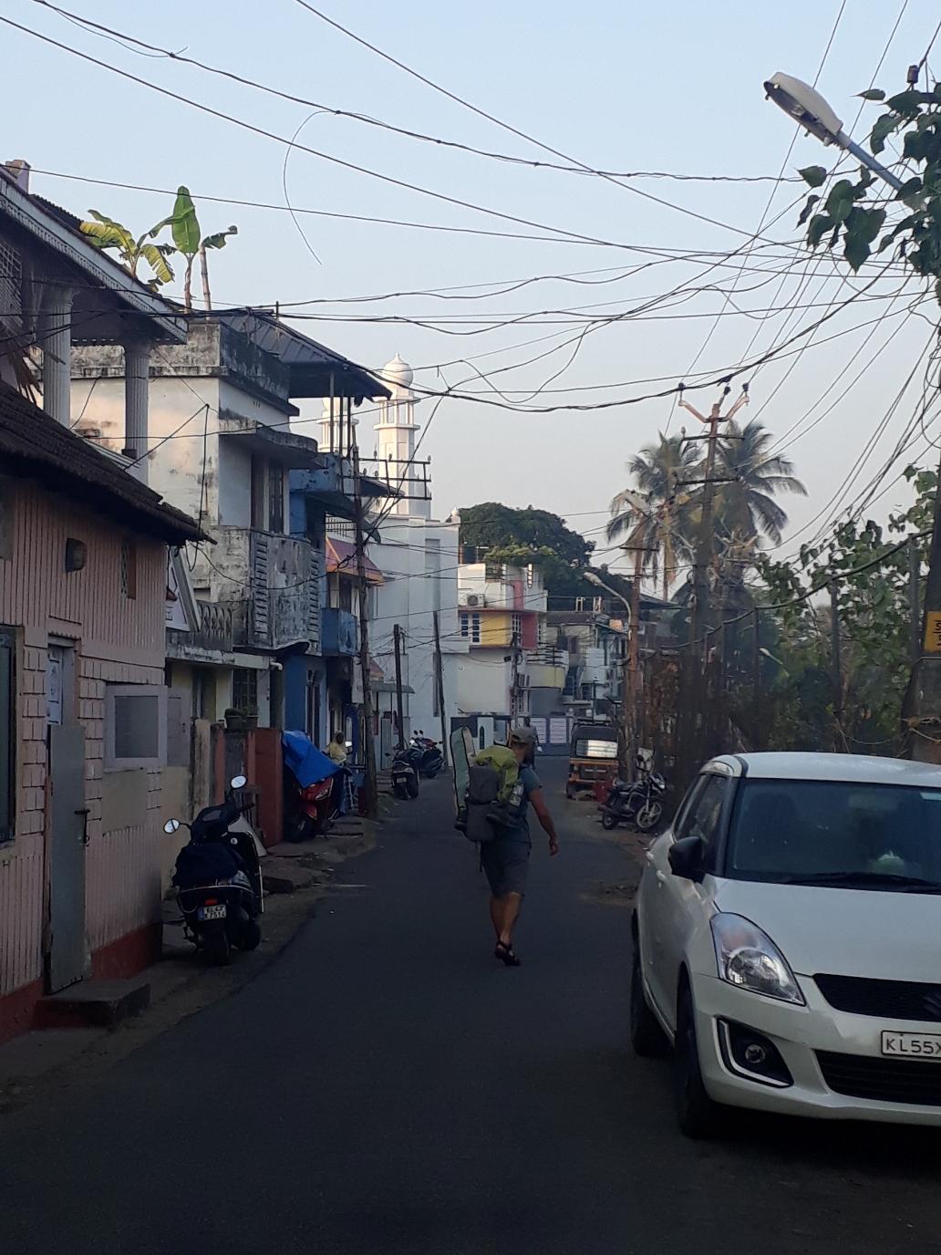Auf dem Weg zum Fort Kochi