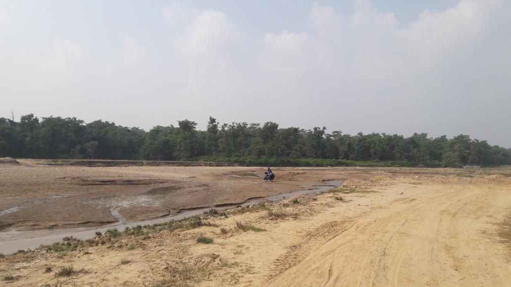 Auf dem Weg in den Barida National Park