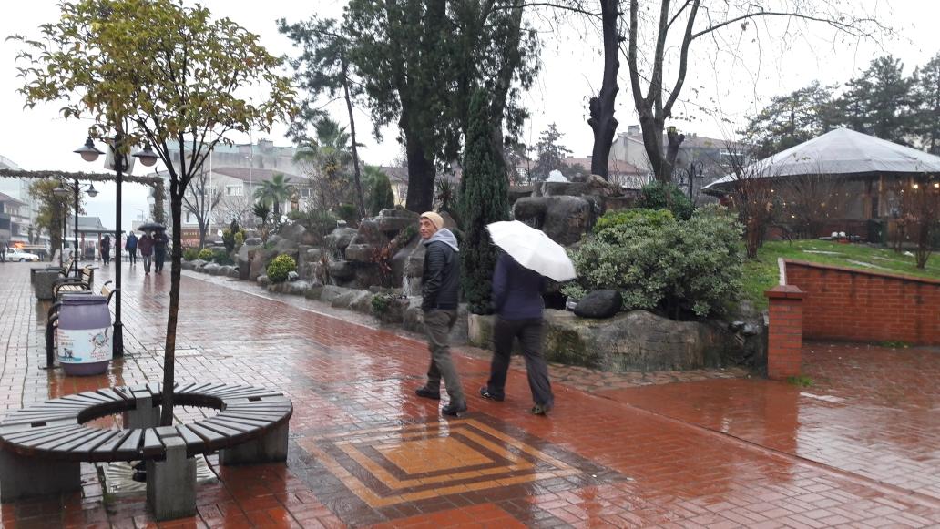 Sightseeing in the center of Çaycuma