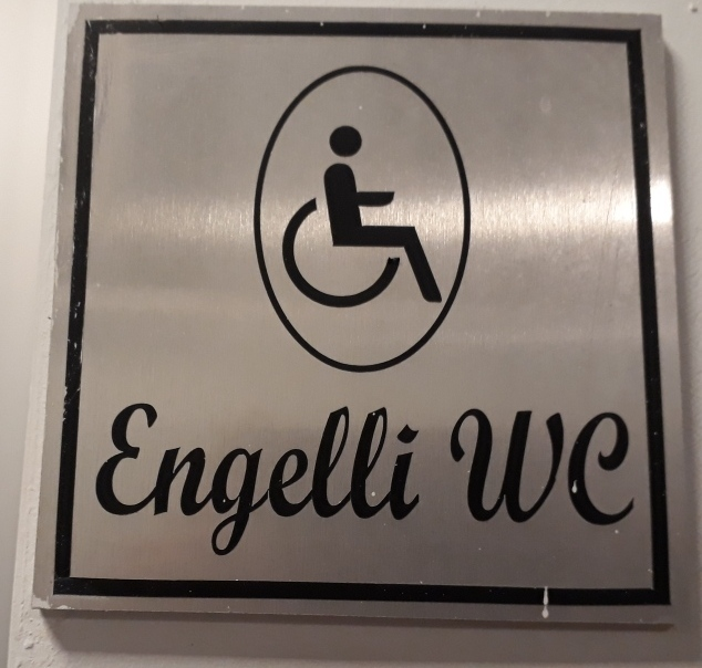 "In Turkey they have toilets for the Angels, in Suisse dialect: ""engelli"""