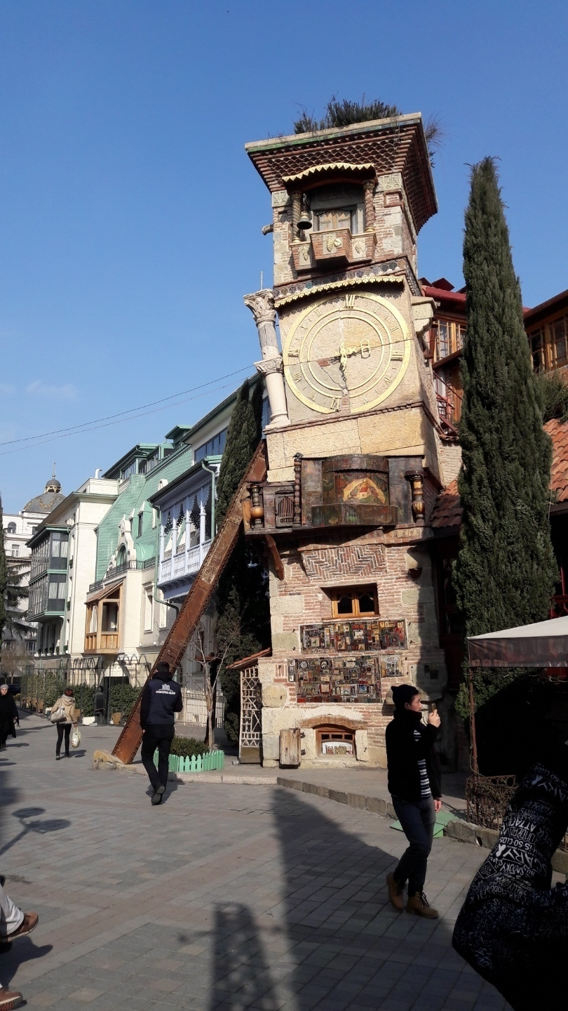 Puppettheatre-tower in Tbilisi
