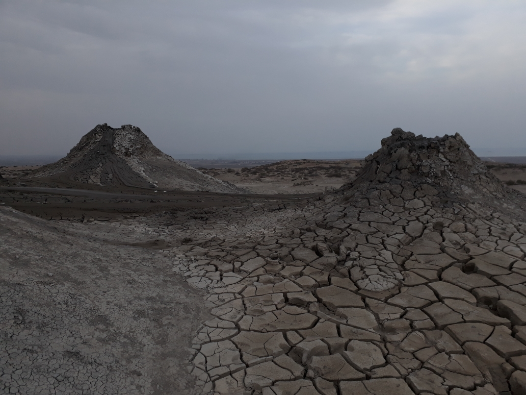 Qobustan mud vulcano