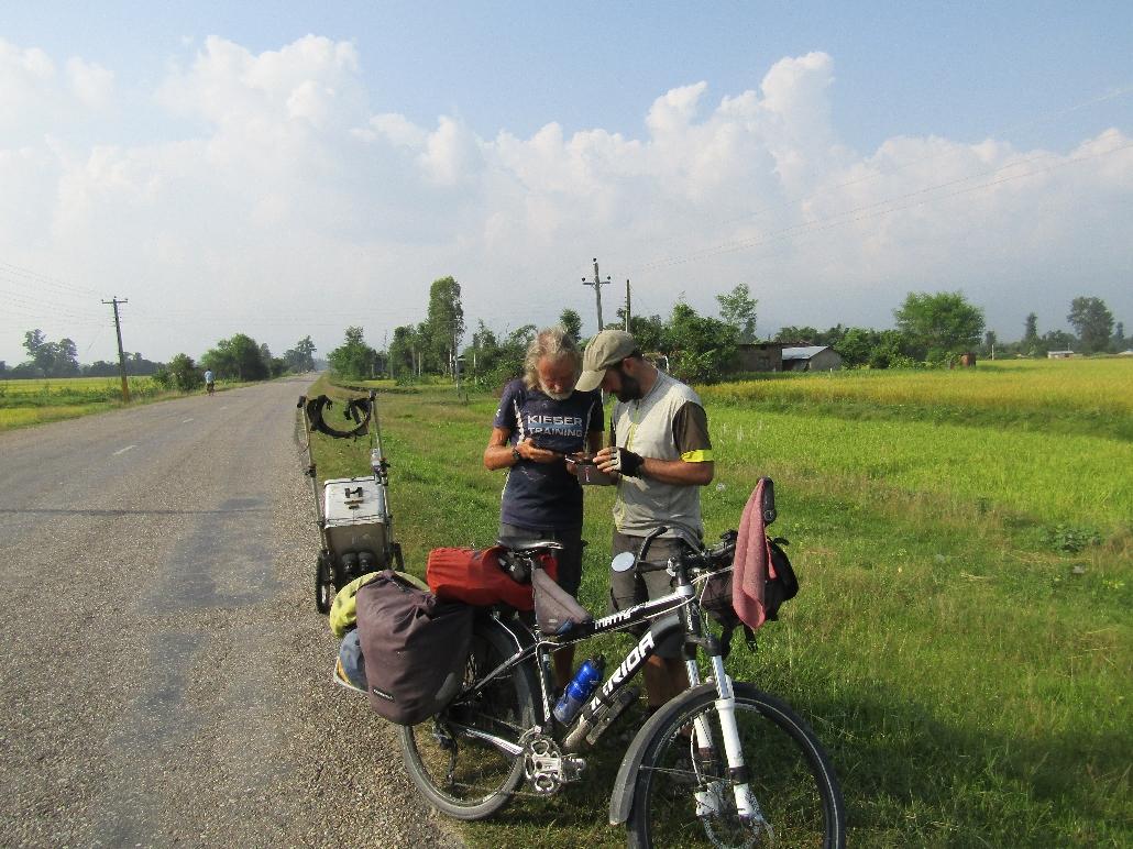 Streettalk mit Kuno:  68-jähriger Läufer aus Deutschland