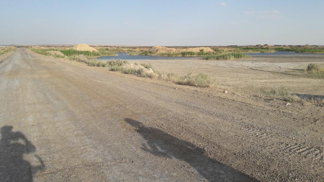 Auf dem Weg zu To'dakol See