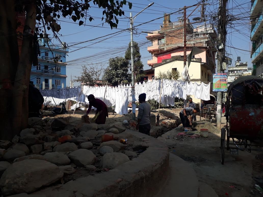 Mitten in Kathmandu
