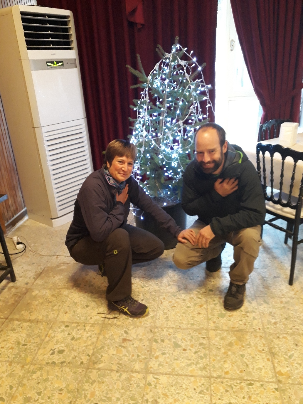 Teşekkür ederiz! We are so happy that this christmastree still has roots to stay alive