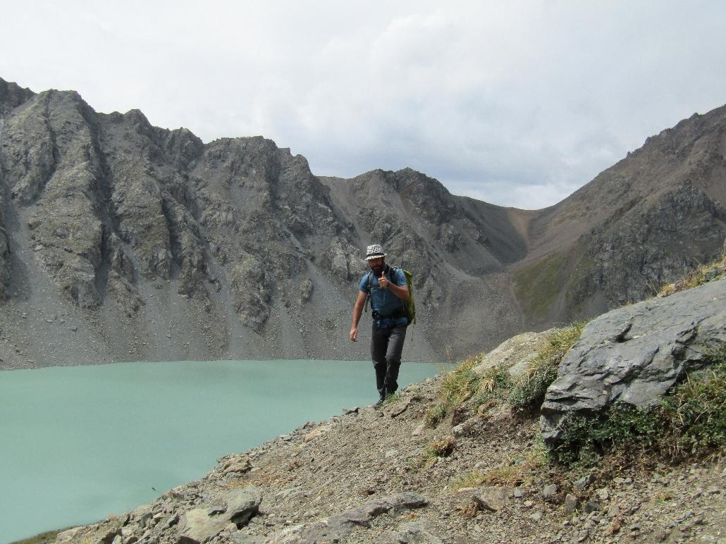 Ala Kul der kälteste See auf 3'600 meter
