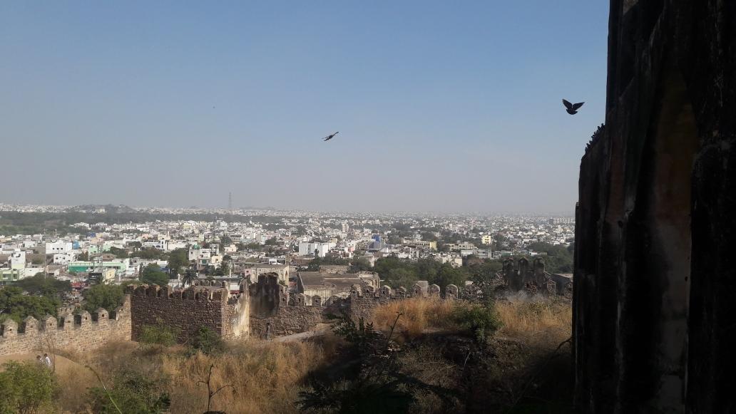 Hyderabad von oben