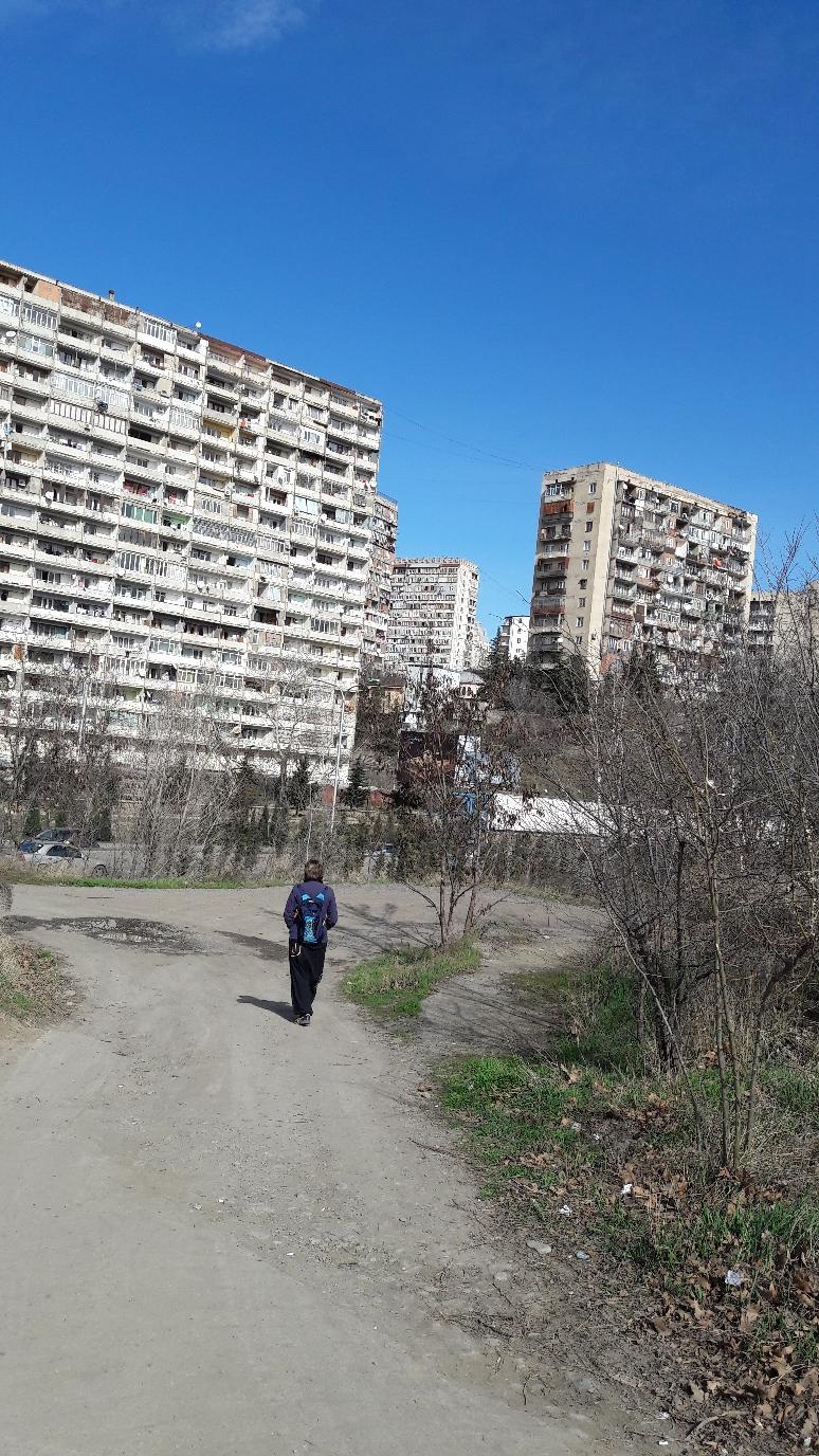 Westlicher Teil von Tiflis