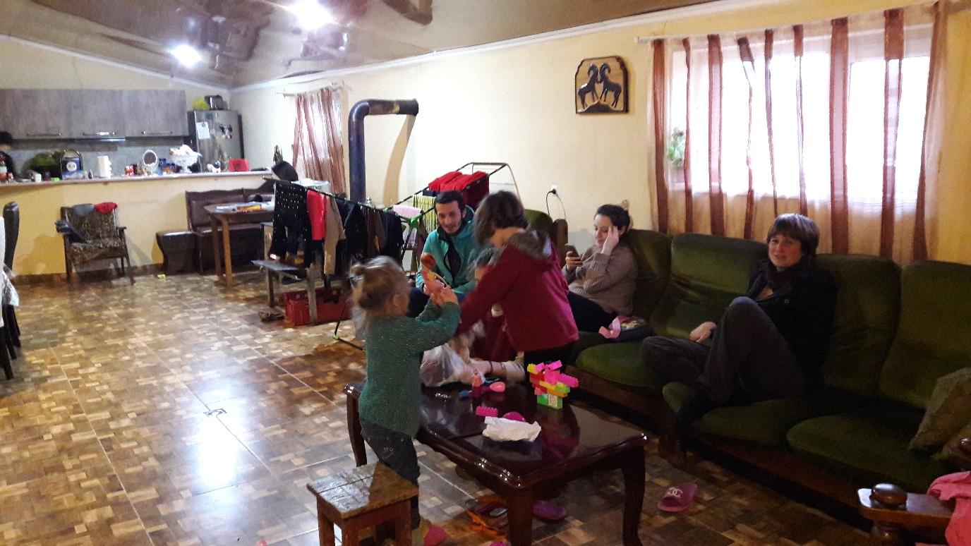 Bei unserer netten Familie (A-E) in Udabno
