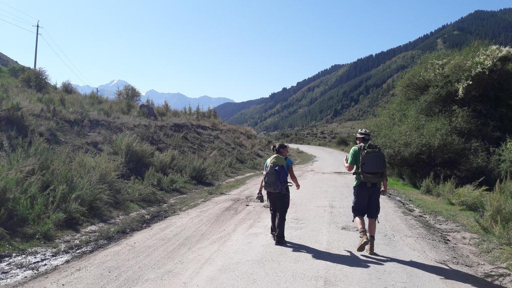Deutsch-russischer wander smalltak
