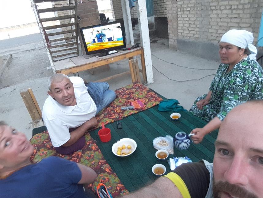 Bei Kemal und seiner Frau zu Gast