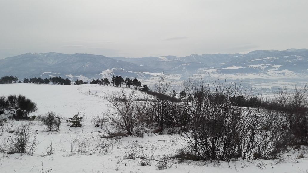Nice view some kilometers before Gori
