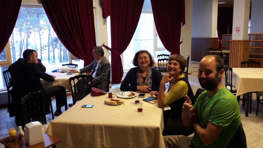 Çaytime with Belgin, the Mayors wife