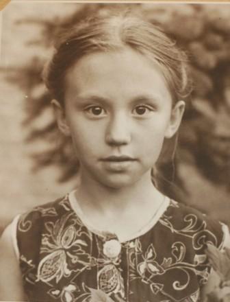 дочь Мария. 1957